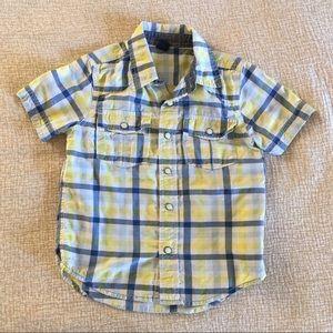 Baby Gap Toddler plaid shirt sleeve shirt
